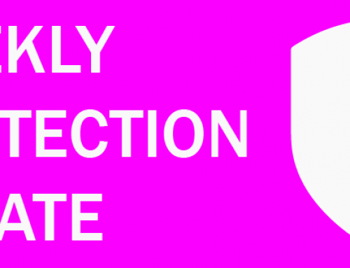 Weekly Protection Update – 29th May 2020
