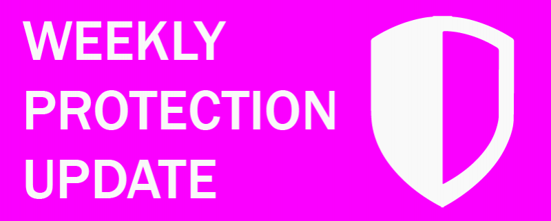 Weekly Protection Update –30th August 2019 – Home