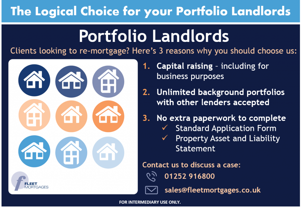 Fleet Mortgages The Logical Choice For Your Portfolio Landlords Home