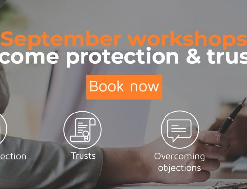 September 2018: Income protection & trusts workshops