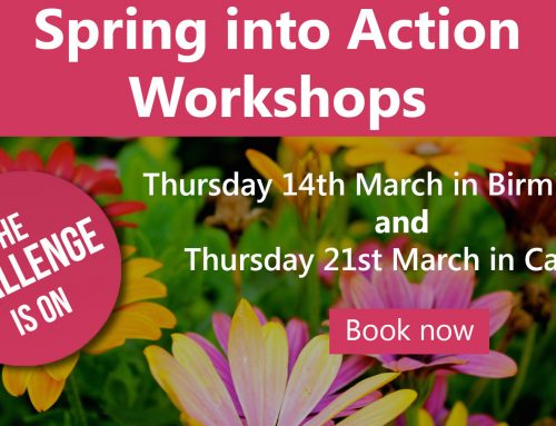 Spring into action workshops – March 2019